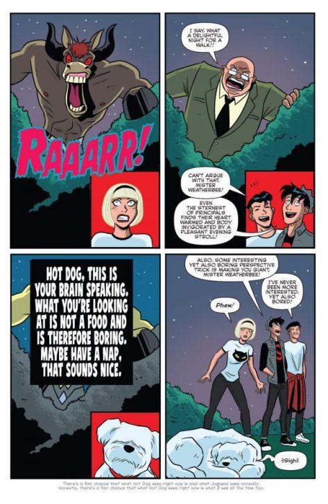From JUghead #11 by Derek Charm & Jack Morelli