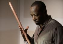 Lennie James as Morgan Jones and Benedict Samuels as W Man - The Walking Dead _ Season 6, Episode 8 - Photo Credit: Gene Page/AMC