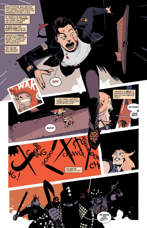 From Deadly Class #25 by Wes Craig & Jordan Boyd