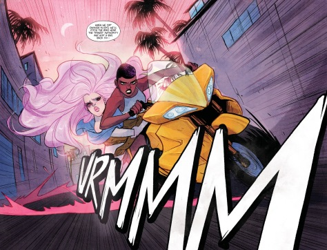 From Motor Crush #2 by Babs Tarr & Cameron Stewart