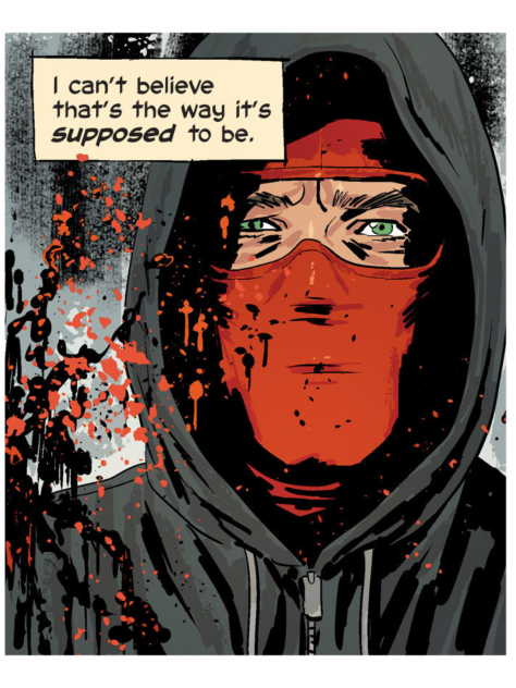 From Kill or Be Killed #5 by Sean Phillips & Elizabeth Brietweiser