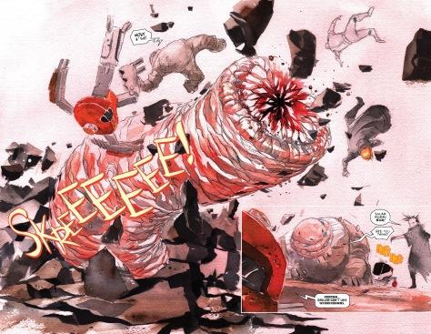 From Descender #18 by Dustin Nguyen