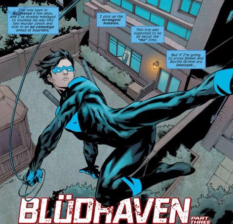 From Nightwing #12 by Marcus To & Chris Sotomayor