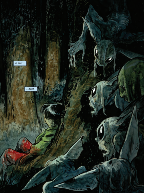 From Harrow County #19 by Tyler Crook