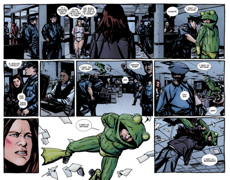 From aka Jessica Jones by Michael Gaydos & Matt Hollingsworth