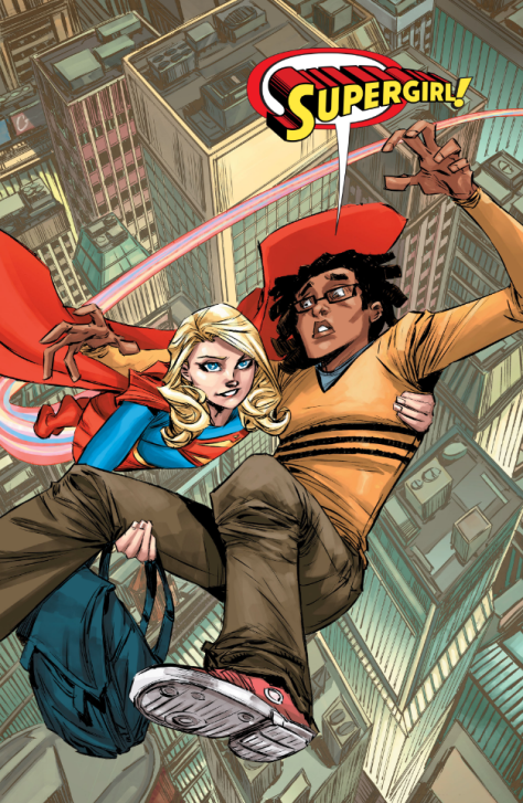 From Supergirl #5 by Brian Chiang & Michael Atiyeh