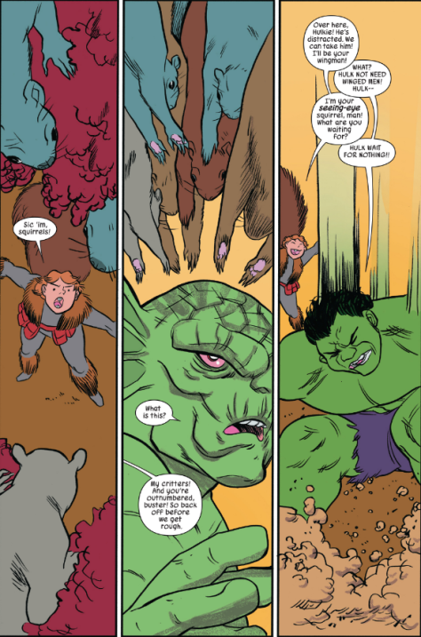 From The Unbeatable Squirrel Girl #16 by Erica Henderson & Rico Renzi