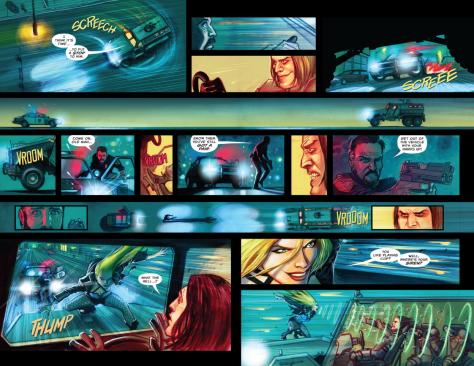 From Green Arrow #15 by Juan Ferreyra