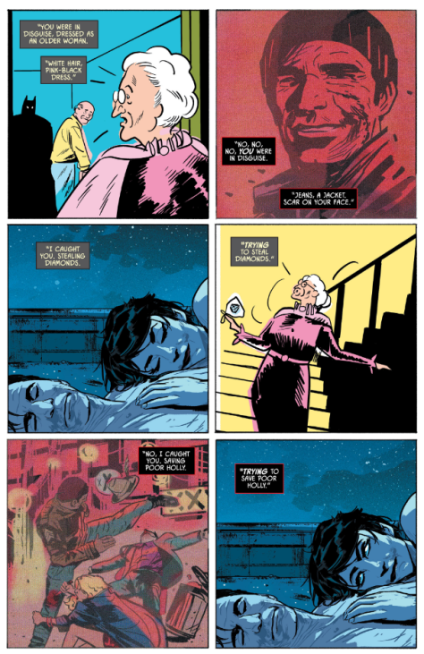 From Batman #15 by Mitch Gerads