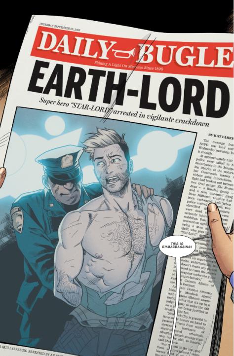 From Star-Lord #2 by Kris Anka & Matthew Wilson