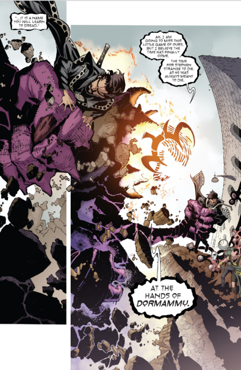 From Dr Strange  #16 by Chris Bachalo, Victor Olazaba & Cory Smith