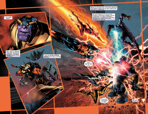 From Thanos #3 by Mike Deodato & Frank Martin