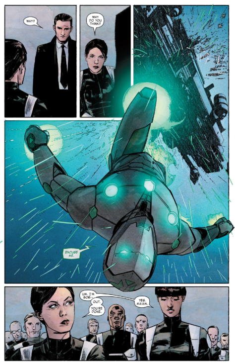 From Infamous Iron Man by Alex Maleev & Matt Hollingsworth