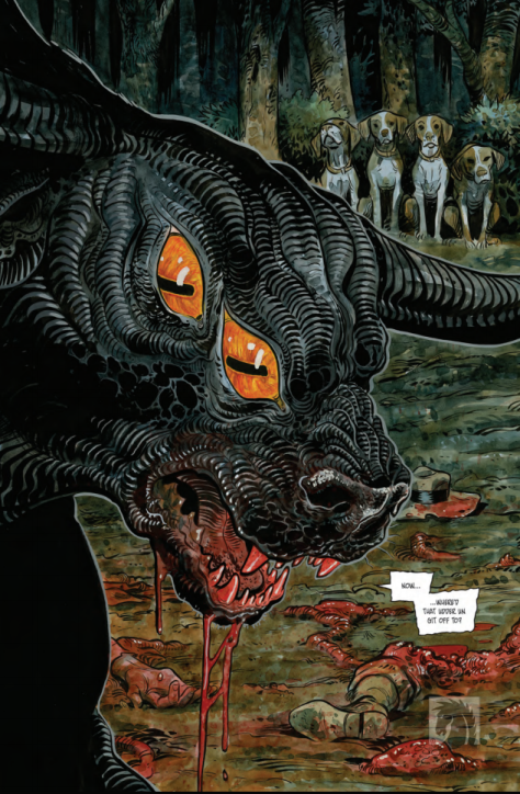 From Harrow County #20 by Tyler Crook