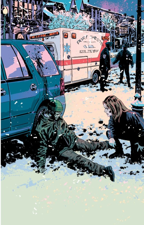 From Kill of Be Killed #6 by Sean Phillips & Elizabeth Brietwieser