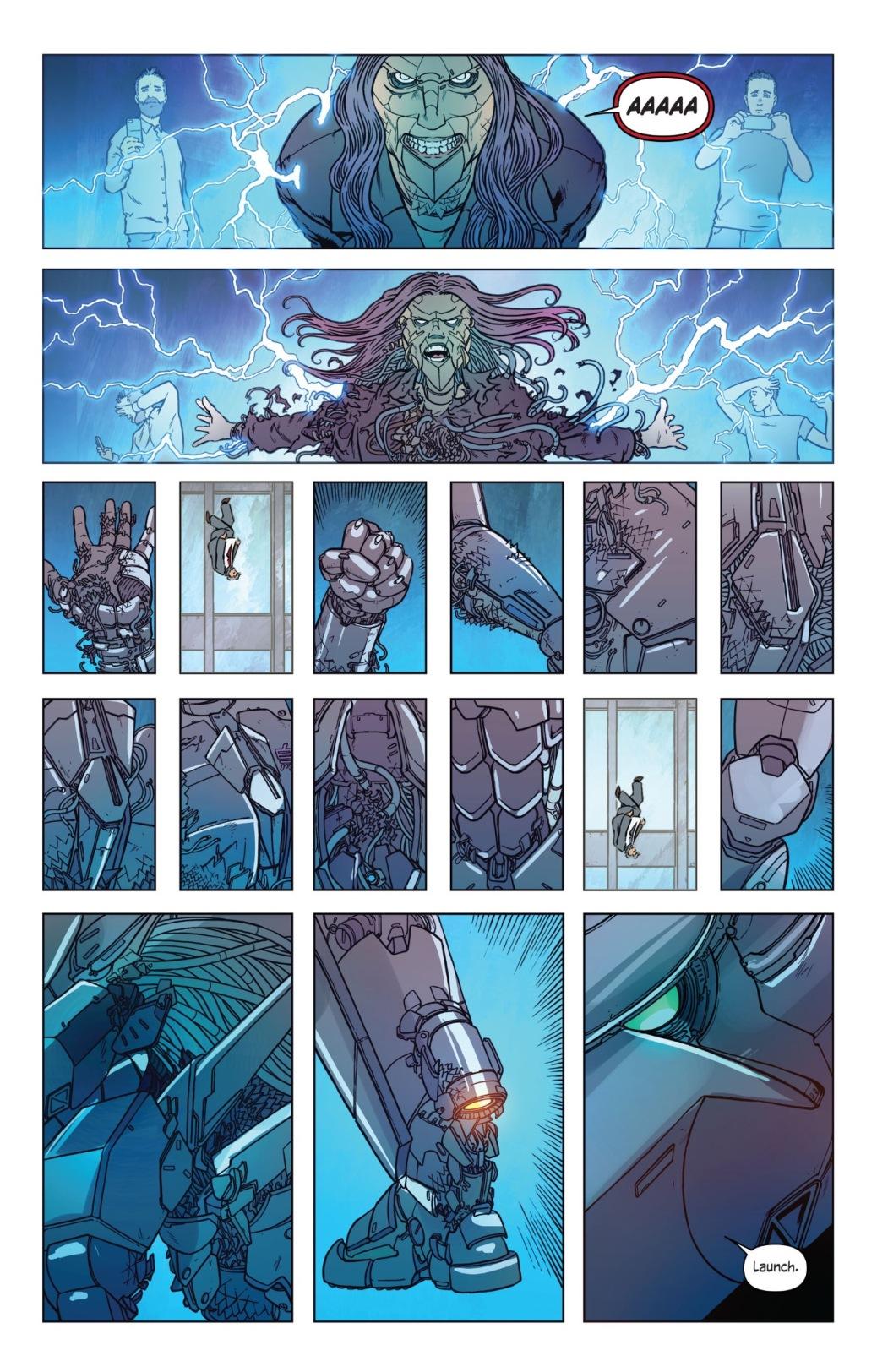 From The Wild Storm #1 by Jon Davis Hunt & Ivan Plascencia