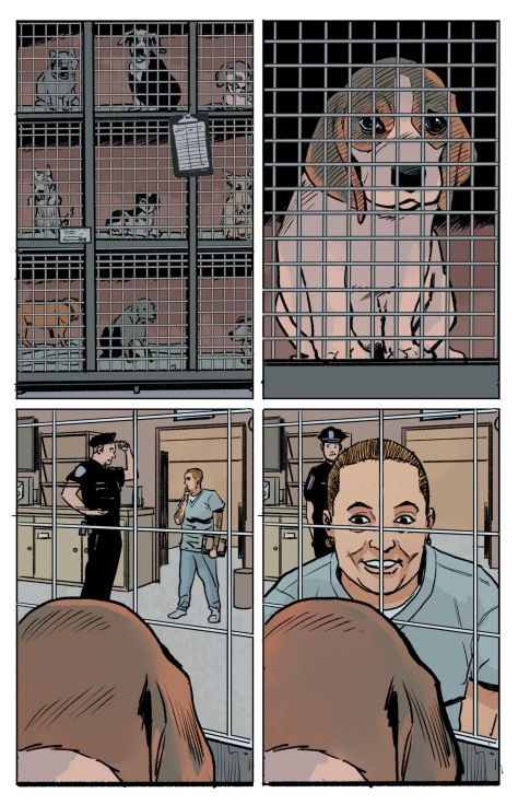From The Fix #8 by Steve Lieber & Ryan Hill