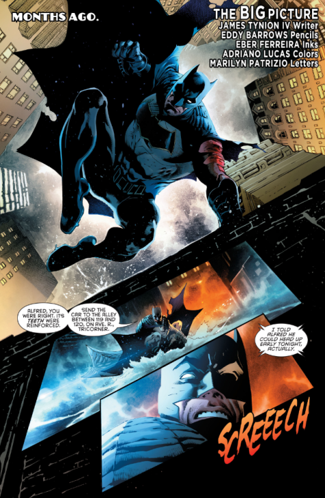 From Detective Comics #950 by Eddy Barrows, Eber Ferreira & Adriano Lucas