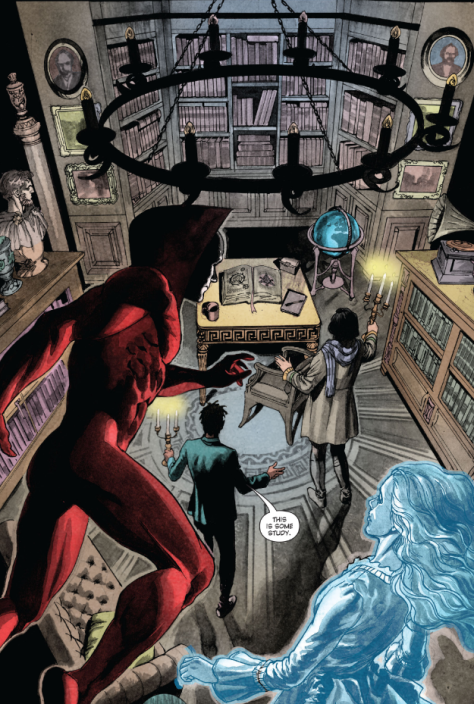 From Deadman: Dark Mansion of Forbidden Love #3 by Paco Medina, Phil Hester & Jose Villaruba