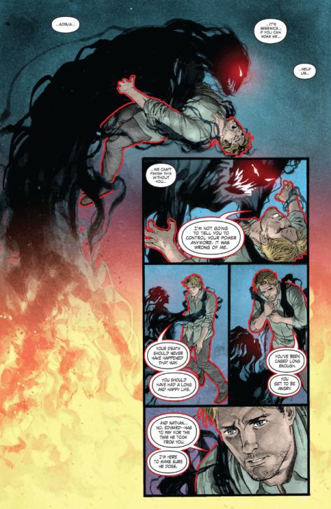From Deadman: Dark Mansion of Forbidden Love #3 by Paco Medina, Phil Hester & Jose Villaruba