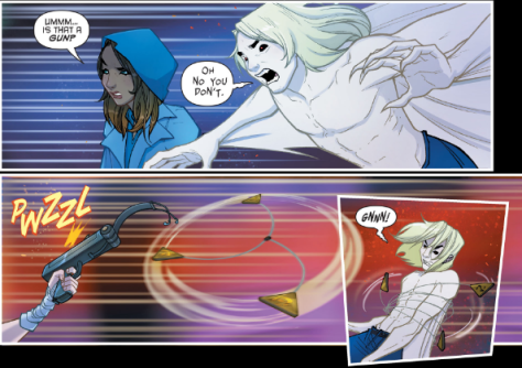 From Gotham Academy Second Semester #6 by Adam Archer, MSASSYK, Sandra Hope & Rob Haynes
