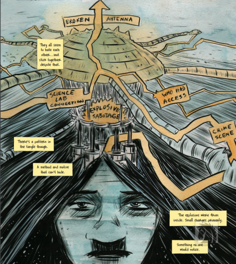 From Dept.H #11 by Matt Kindt & Sharlene Kindt