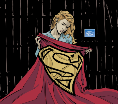 From Supergirl Being Super #2 by Joelle Jones & Kelly Fitzpatrick