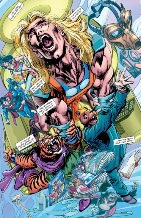 From The Kamandi Challenge #2 by Neal Adams & Hi-Fi