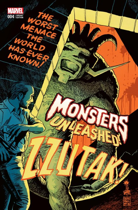 Monster Unleashed #4 by Francesco Francavilla