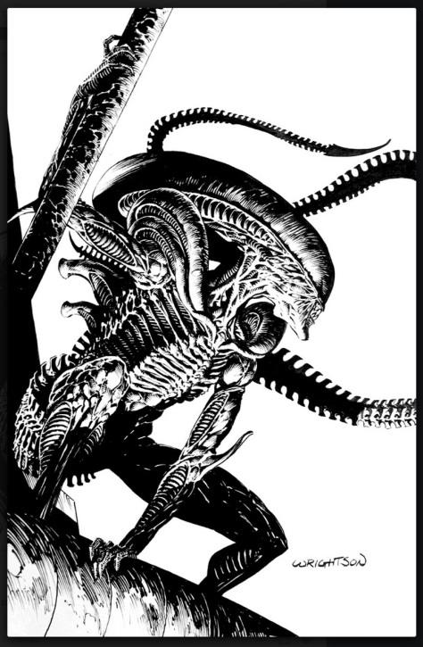 Alien Bernie Wrightson