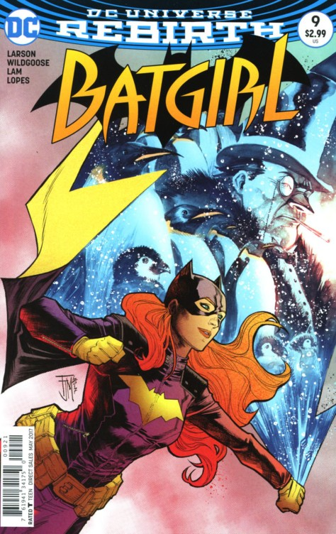 Batgirl 9 Francis Manapul