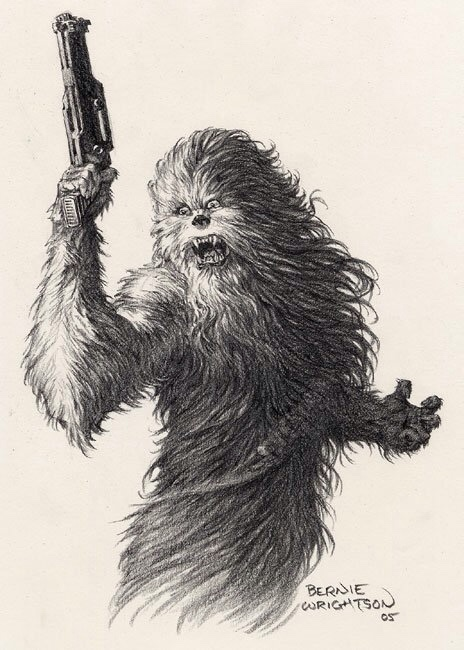 Chewie Bernie Wrightson