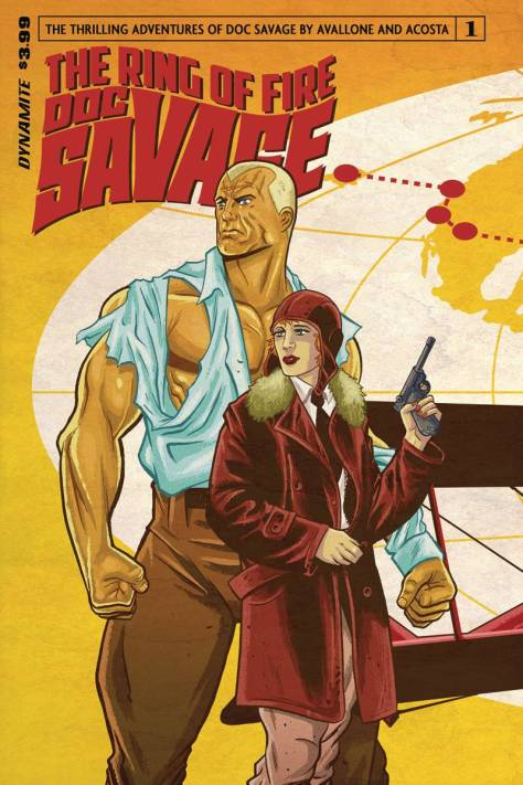 Doc Savage The Ring of Fire 1 by Brent Shoonver