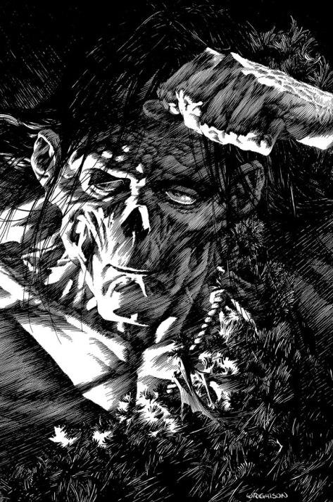 Frankenstein creature Bernie Wrightson