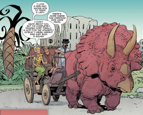 The Flintstones #9 by Steve Pugh and Chris Chuckry
