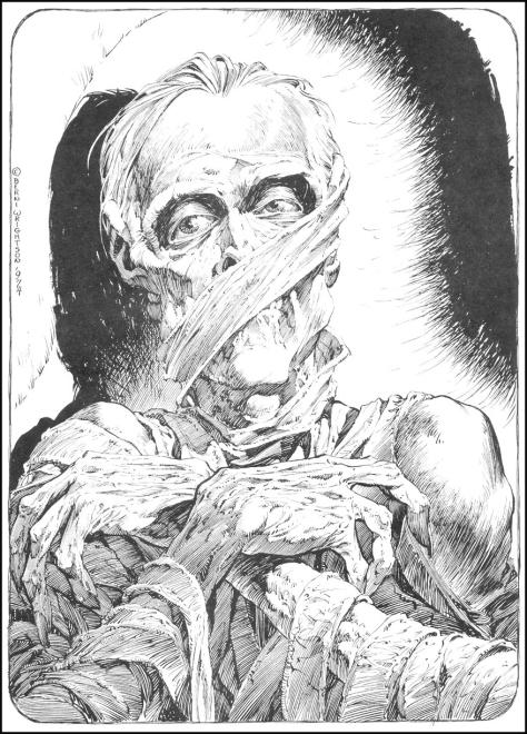 Mummy Bernie Wrightson