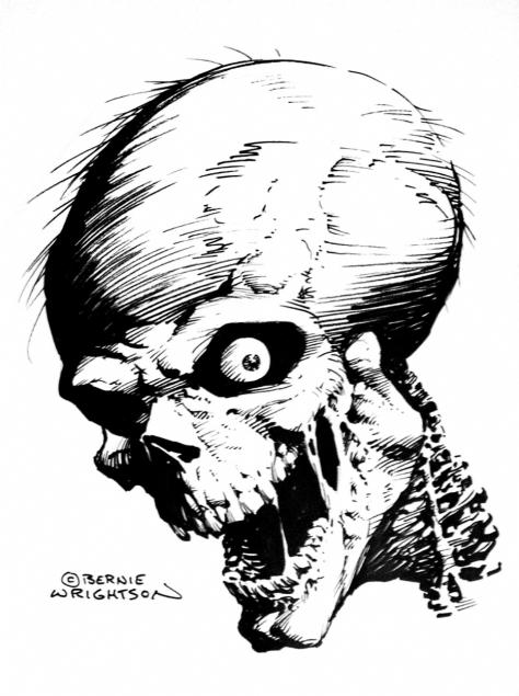 Skull Bernie Wrightson