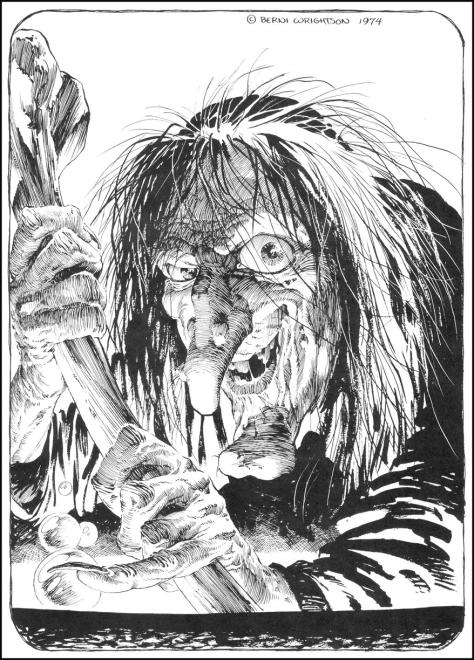 Witch Bernie Wrightson
