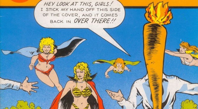 The Flaming Carrot's Absurd Escapades