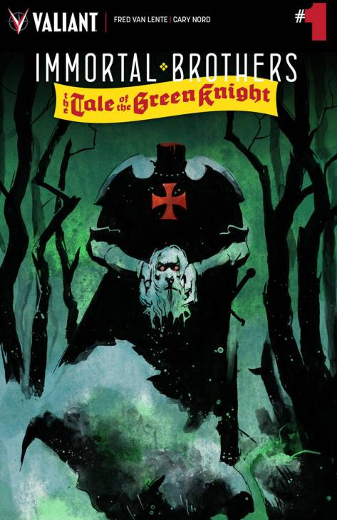 Immortal Brothers The Tale of the Green Knight Cary Nord