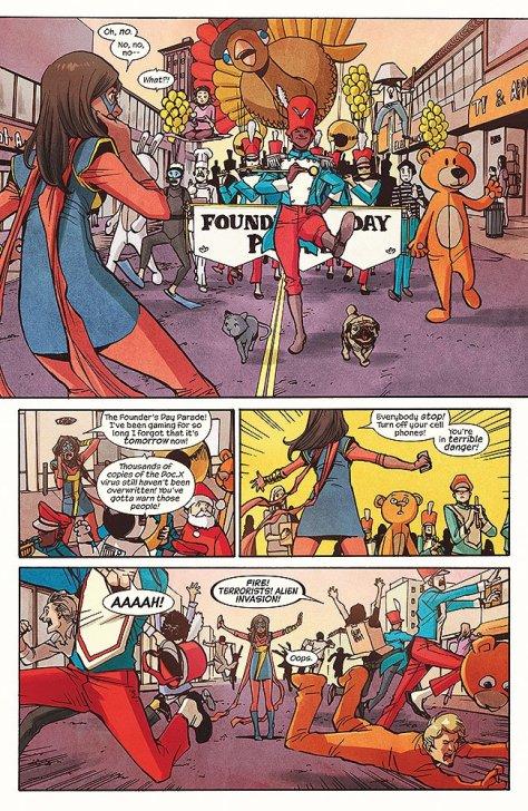 Ms Marvel 17 parade Takeshi Miyazawa