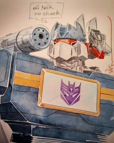 Soundwave and Broadcast Dustin Nguyen