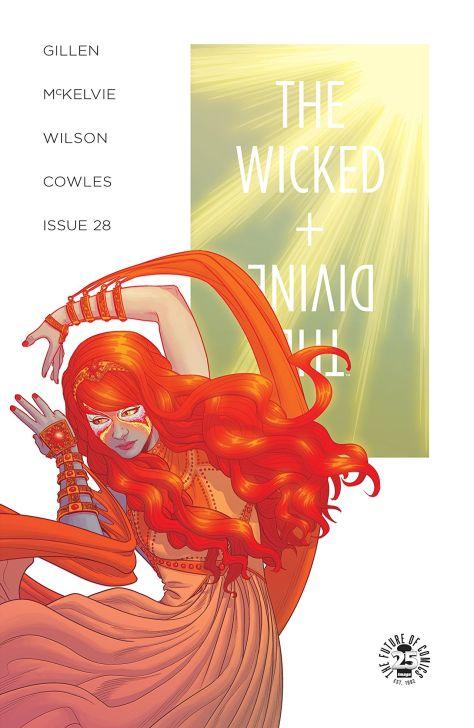 The Wicked + The Divine 28 cover Jamie McKelvie