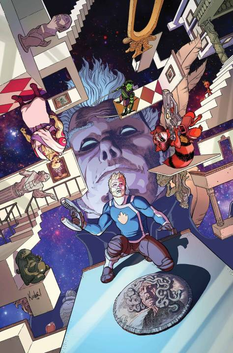All-New Guardians of the Galaxy 2 cover Aaron Kuder