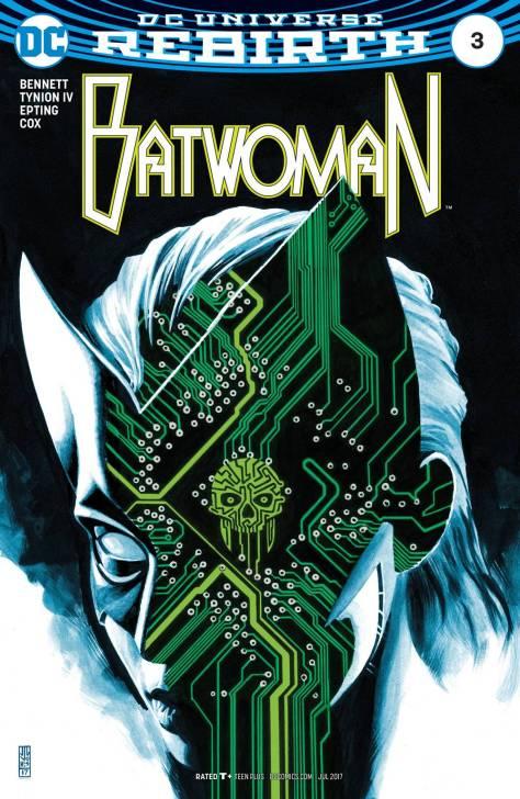 Batwoman 3 J.G. Jones