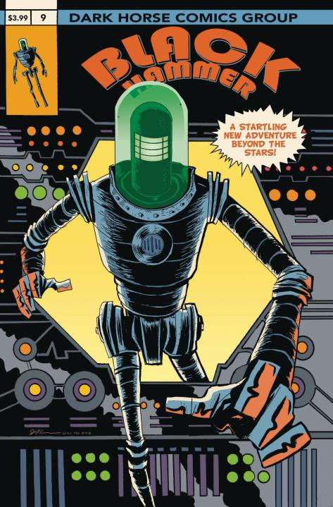 Black Hammer 9 Jeff Lemire