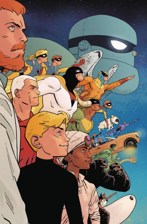 Future Quest 12 Evan Doc Shaner