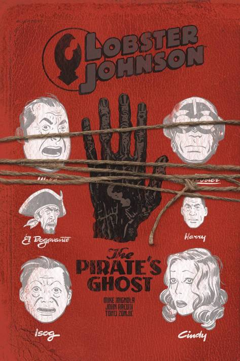 Lobster Johnson The Pirate's Ghost 3 Tonci Zonjic