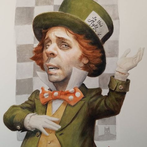 Mad Hatter Paolo Rivera