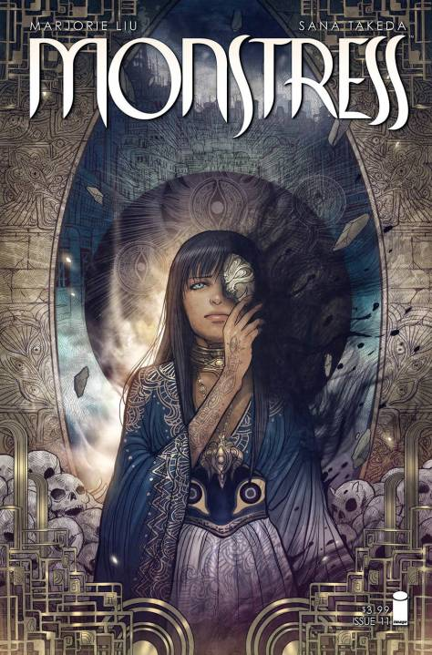 Monstress 12 Sana Takeda